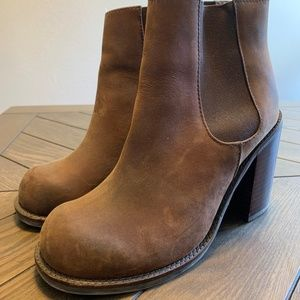 Jeffrey Campbell Brown Ankle Boots